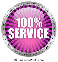 100 service icon