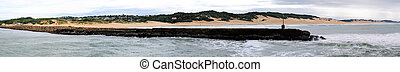 Port Alfred panorama 1 - Panorama from five photos of Port...