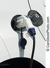 Charging an electric powered car - Fuel her up please...