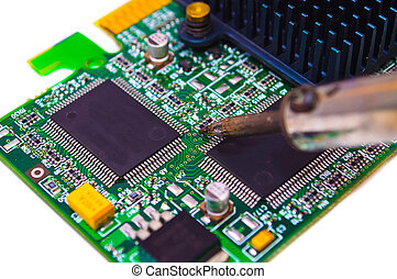 Repair and diagnostic electronics