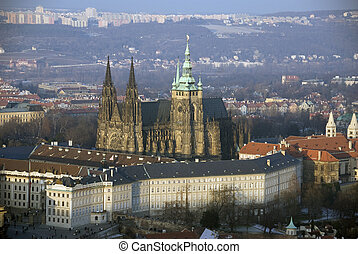 Prague - Hradcany and St. Vitus Cathedral