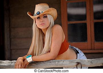 Cowgirl, 性感