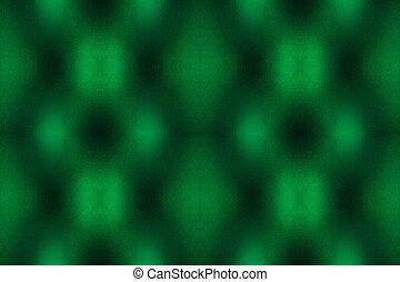 mönster, abstrakt, grön