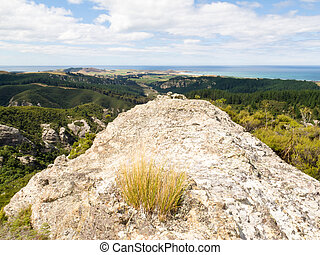 Rocky outcrops of Trotters Gorge, Otago, NZ