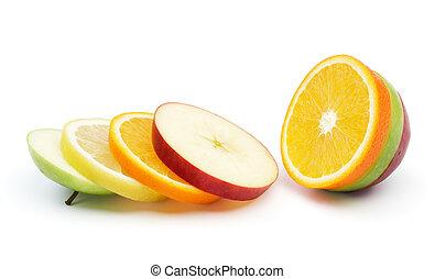 mescolato, frutta