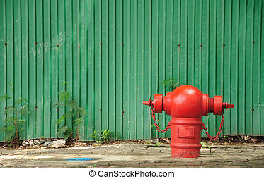 Fire Hydrant Red
