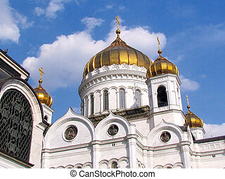 Moscow Cathedral of Christ the Saviour April 2011 - The...
