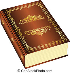 book with space for your text - Vector illustration of book...