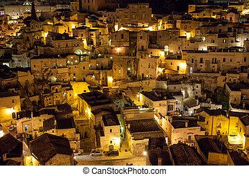 Matera di Notte, Italia