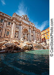 Trevi Fountain (Fontana di Trevi) is one of the most famous...