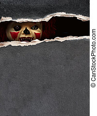 Dark series - spooky clown - Dark series - a look from...