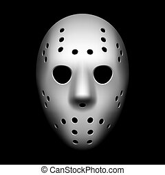 Hockey mask vector illustration