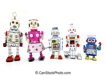 team - a team of robots