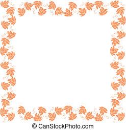 Vine-leaf frame