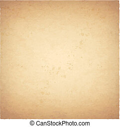 Old Paper - Grunge Vintage Old Paper Background, Vector...
