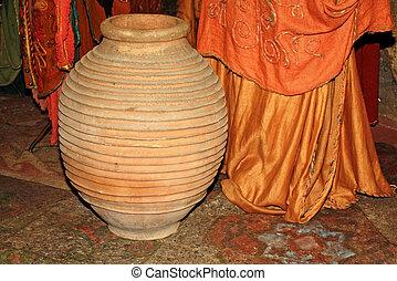 Ancient ceramic vase