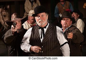 Old West Tough Men