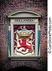 Hollandia sculpture. The Hague, Netherlands - Hollandia...