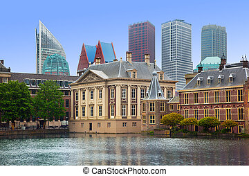 Binnenhof Palace - Dutch Parlament in the Hague Den Haag...