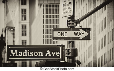 New York City Street Signs