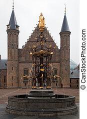 Binnenhof Palace - Dutch Parlament in the Hague