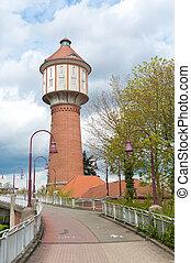 water tower in Lingen, Germany