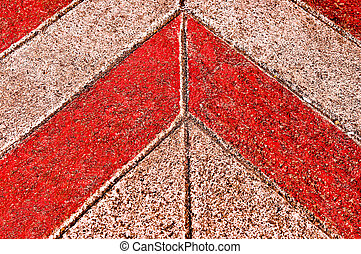 The Abstract of cement floor