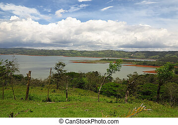 Lake Arenal -  View on Lake Arenal in Costa Rica