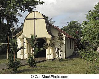 Remote church in Costa Rica