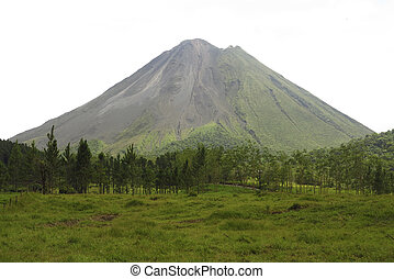 Volcano Arenal - The volcano Arenal in Costa Rica