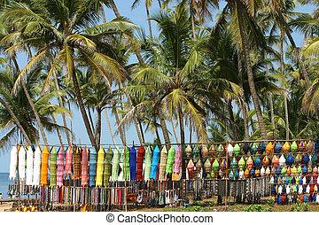 Flea Market Anjuna Goa
