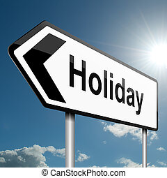 Time for a holiday.