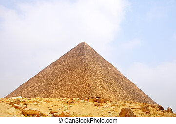 Pyramid, Egypt - Landmark of the famous Pyramid in...