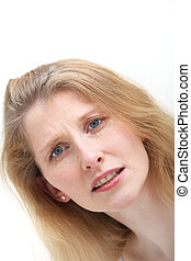 Compassionate middle-aged woman