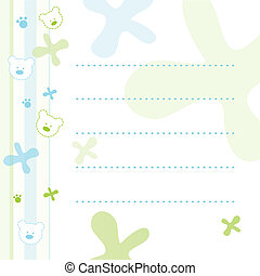 Note paper for kids