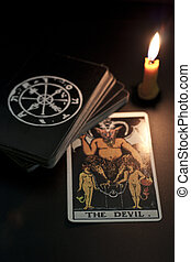 tarot card, the devil, refers to the evil or disaster