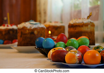Easter holiday feast