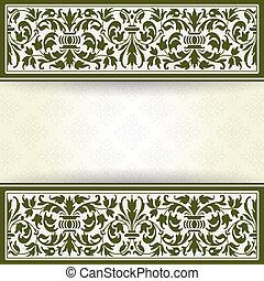 Vintage background - The vector image Vintage background