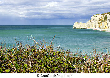 the northern coast of France