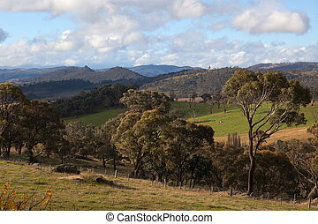 A rural landscape near Oberon New South Wales Australia