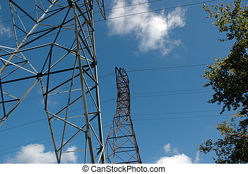 Hydro Towers - This picture is depicting the Hydro Towers...