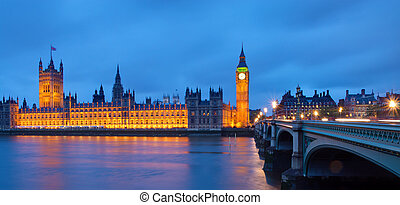The Houses of Parliament after suns