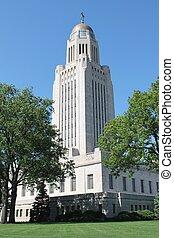 Nebraska State Capital Building in Lincoln, NE.