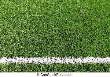 soccer field grass  line
