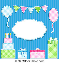 Birthday card - Birthday vector card