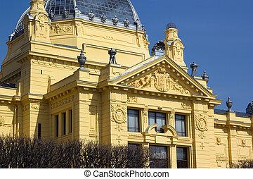 Art Pavilion is an art gallery in Zagreb,Croatia.