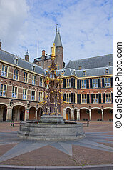 Dutch Parliament, Den Haag, Netherlands - Binnenhof Dutch...