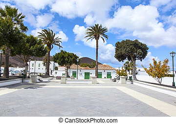 beautiful market place in Yaiza - beautiful traditional...
