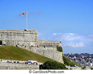 Barbican - Old Barbican in Plymouth-naval baseGreat Britain...