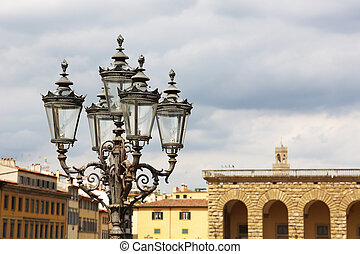 Piazza de Pitti Florence - view at the Piazza de Pitty in...